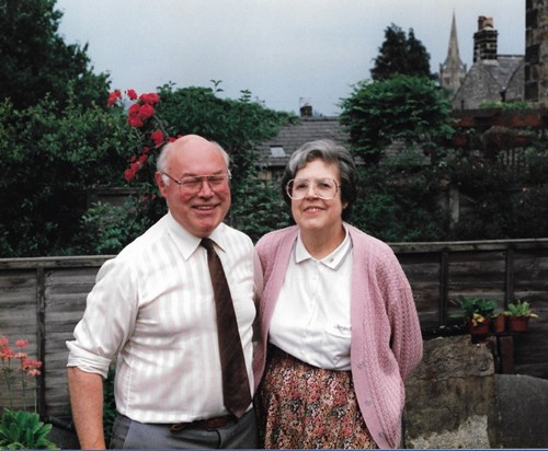 Father and Mother in Garden, Clitheroe