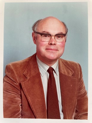 1970s Father school photograph (judging by the jacket)