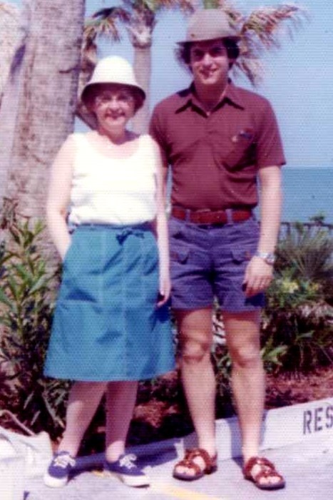 1970s Nano and Peter in Florida