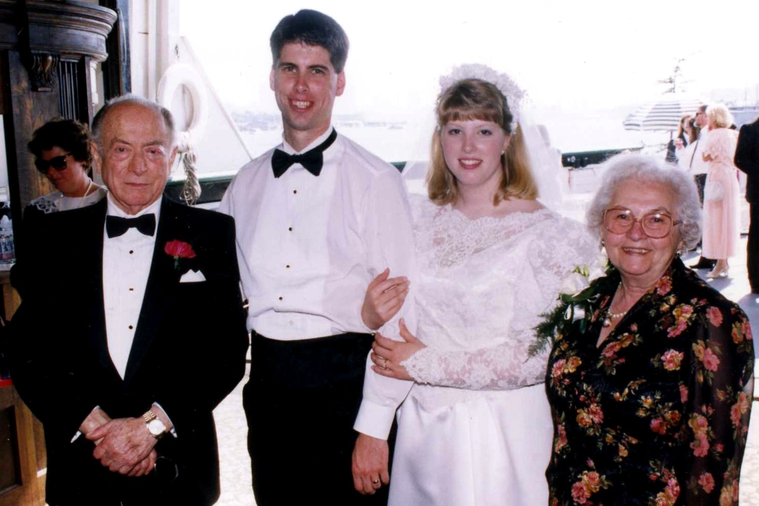 1993, September 6th: Chris & Susan Hancock's wedding