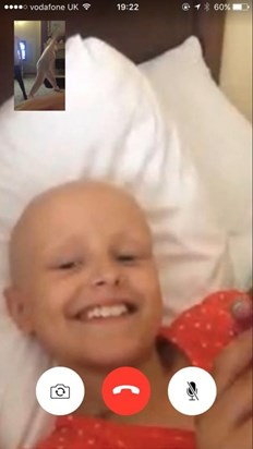 FaceTime from Oklahoma with Ben Pig