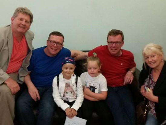 Elodie is the proclaimers biggest fan she enjoyed meeting them and danced the night away at the concert x