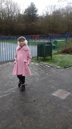 At the park, always Pretty in Pink xx