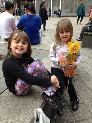 Elodie and maddie in Liverpool