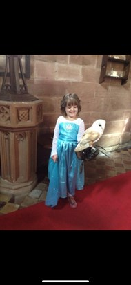 A princess at Peckforton castle