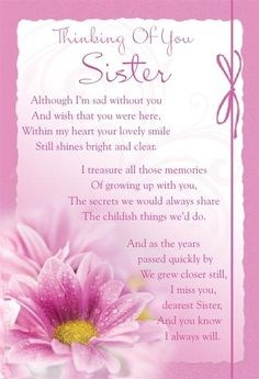 Happy 50th birthday sis , love and miss you every day xx