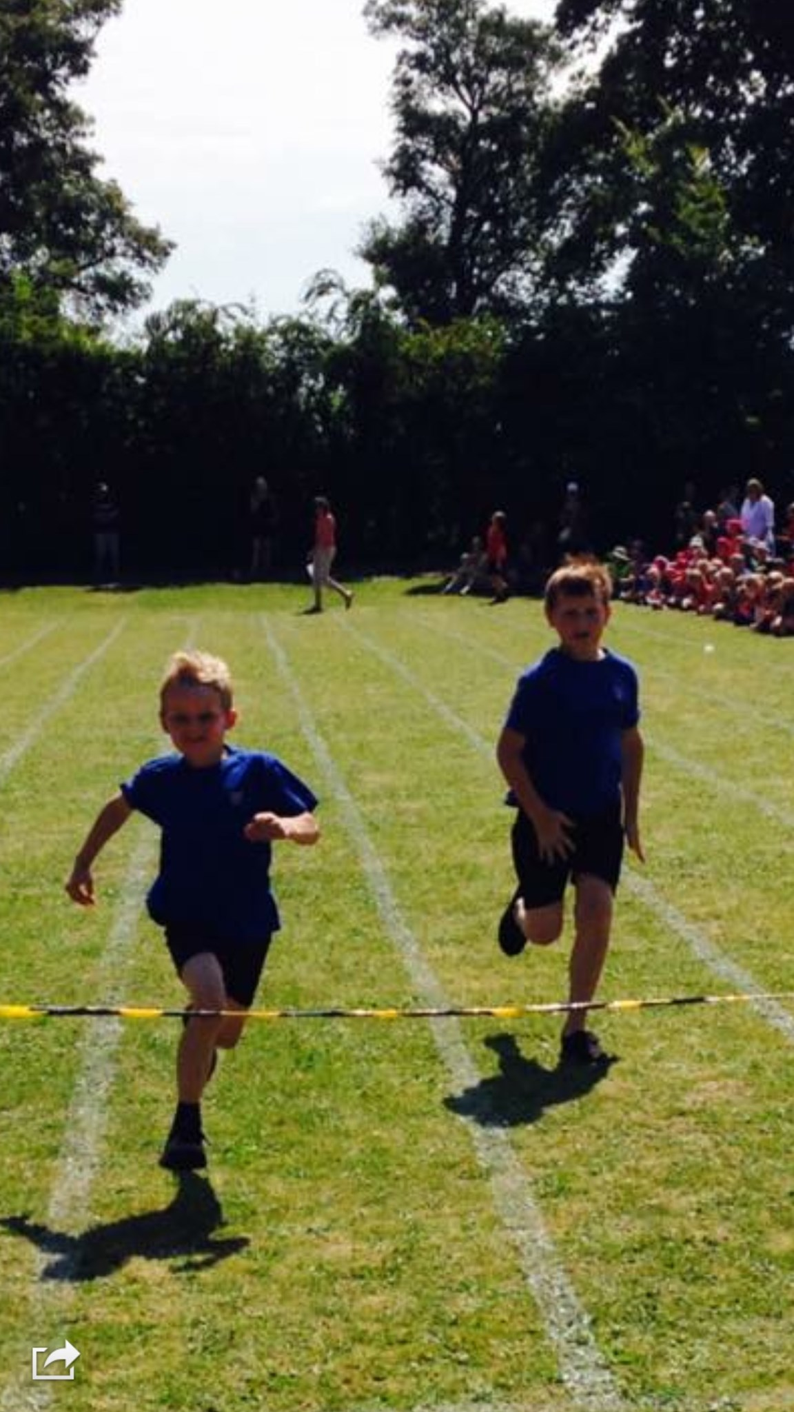 Harry and Georgie sports day 04/07/14