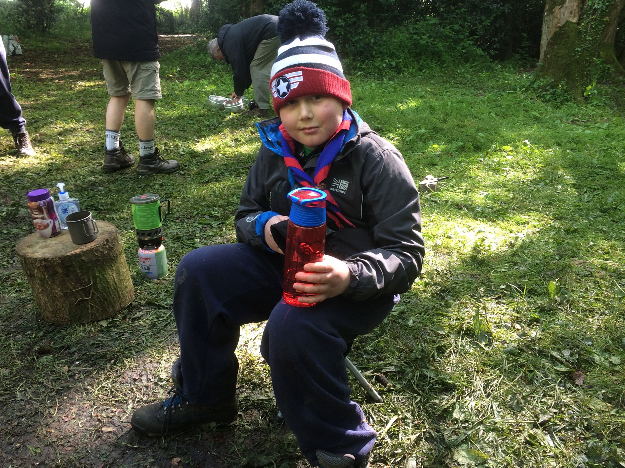 2017 Braidwood with Scouts