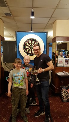 The Terry Ryan Memorial Darts Trophy, January 2017