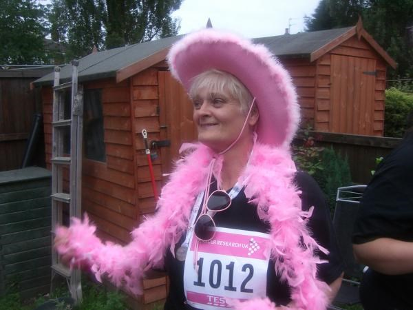 Trish -  Race For Life 2010 in Memory of Ron (dad)