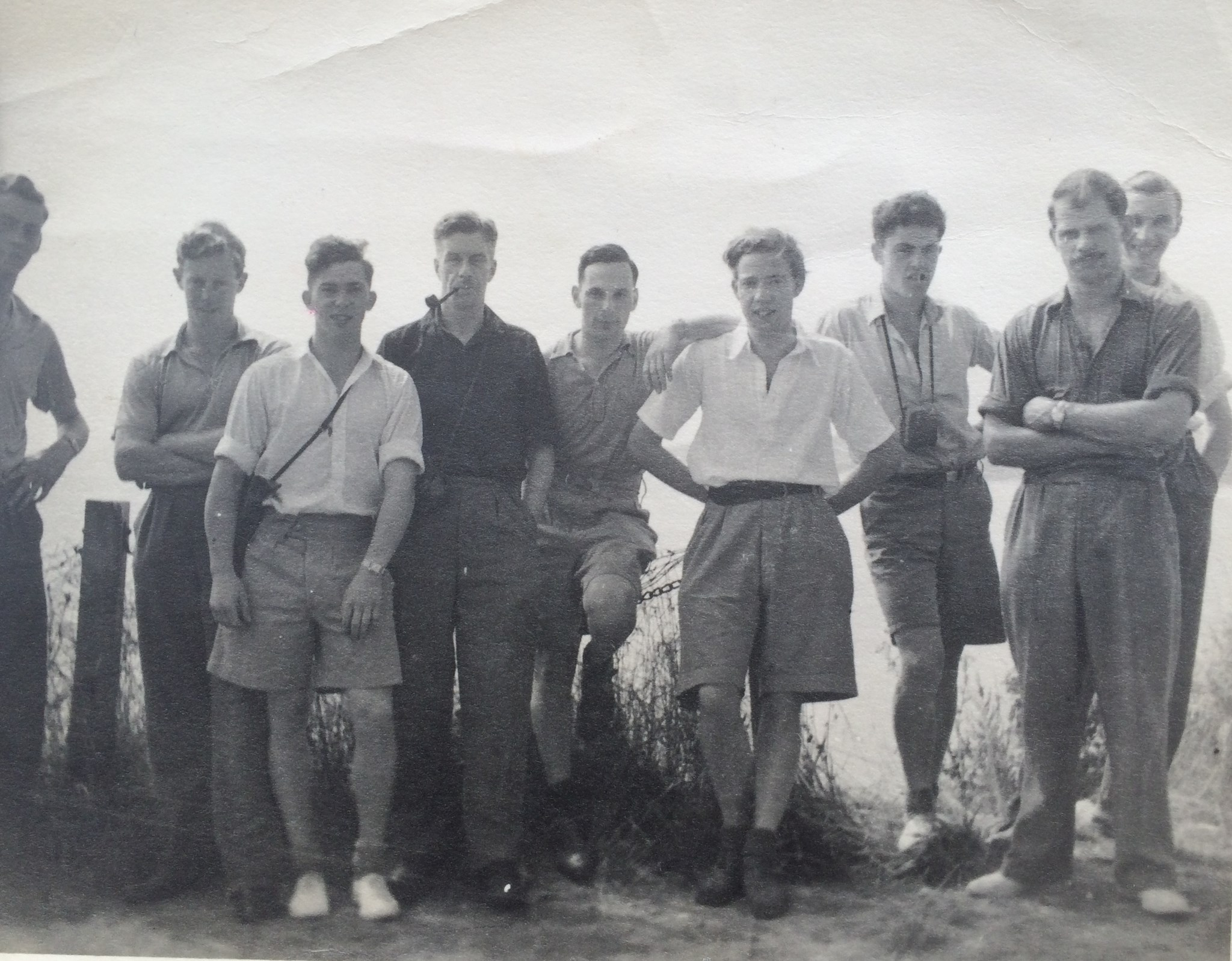 Young men on tour 1951