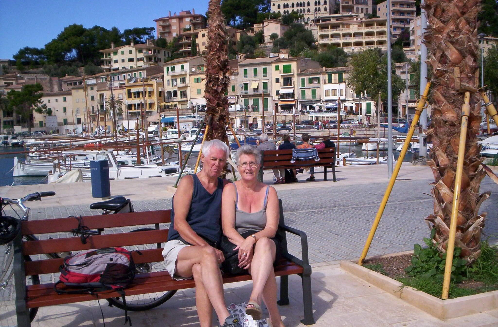 Mike and his wife Linda enjoying 1 of many holidays x