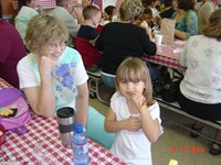Grandparents' Day with Laura, 2005.