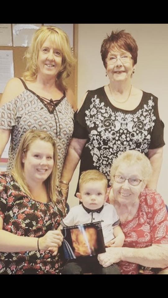 Five generations .... so lucky!
