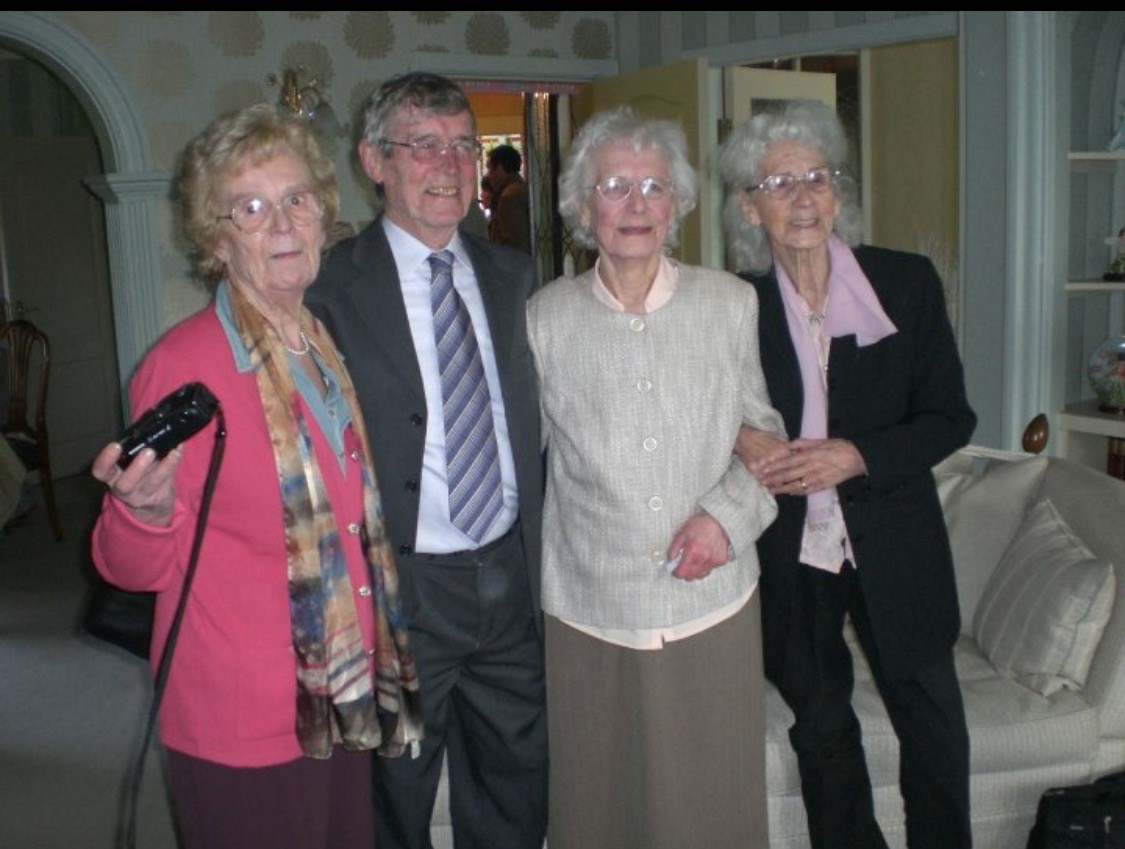 Blanche, Frank, Amy & Lily at my Nan's 90th Birthday xx