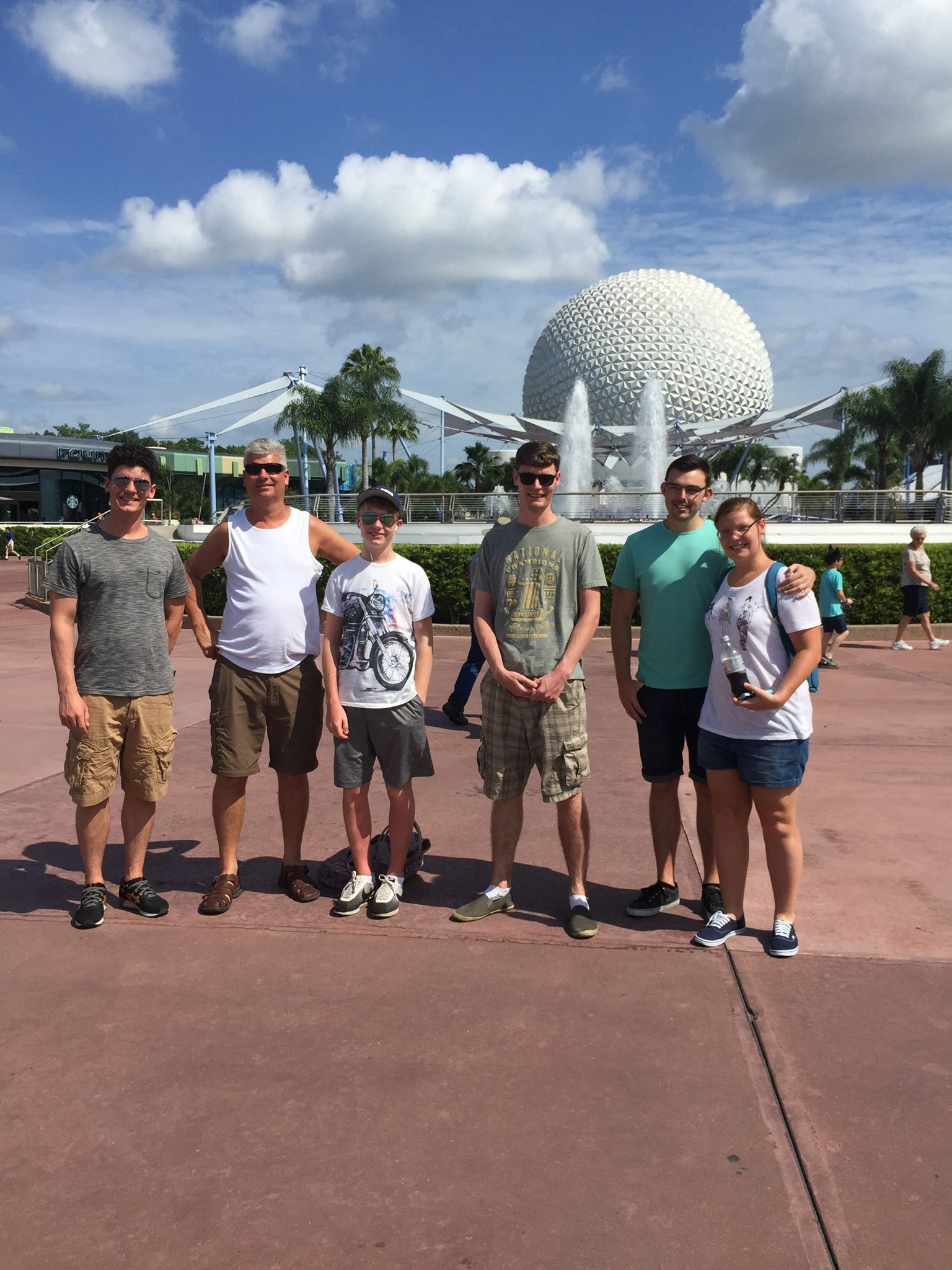 Epcot, Florida - Apr 15