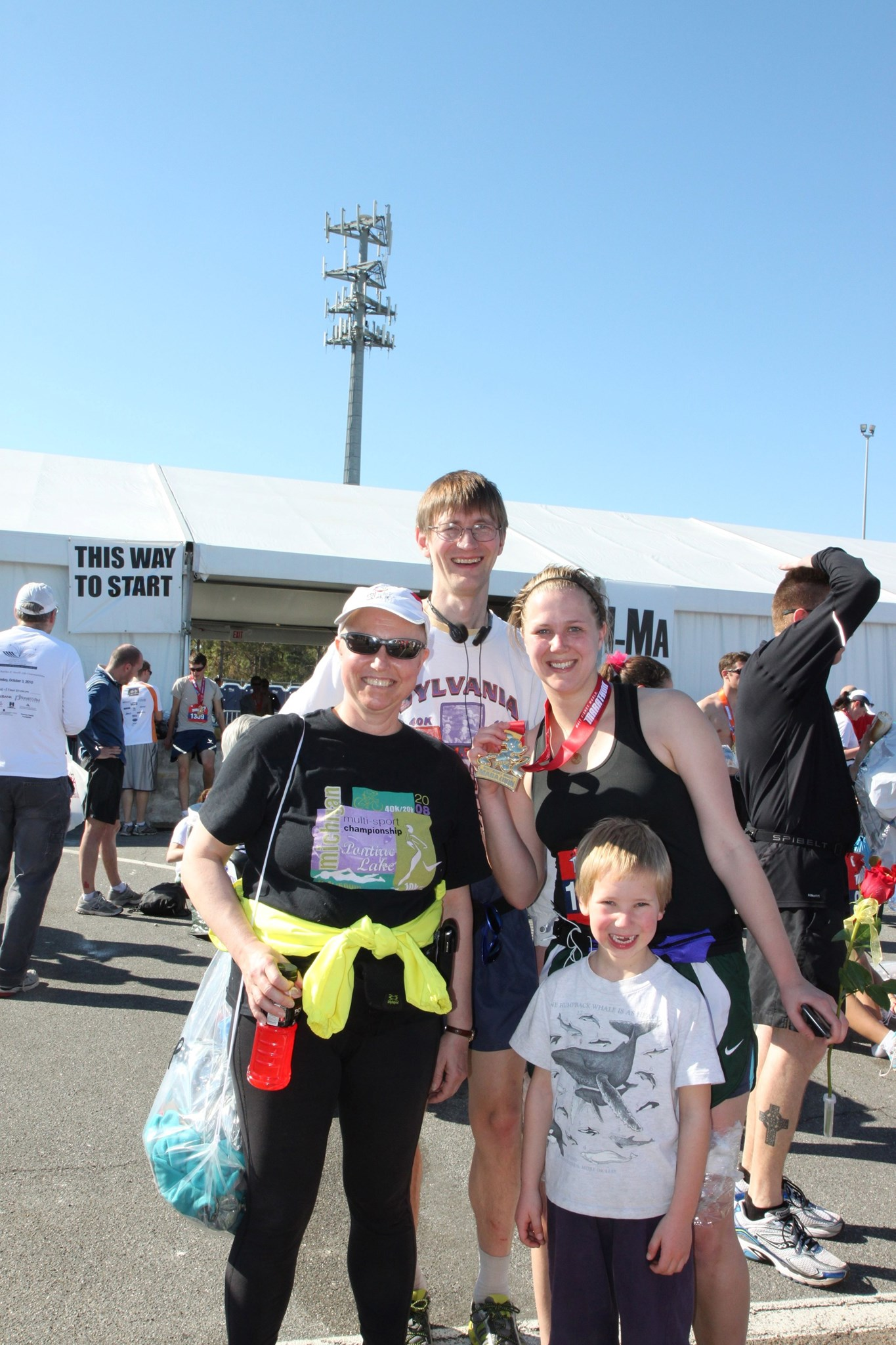 Kerppola Family at Disney Marathon - January 2011