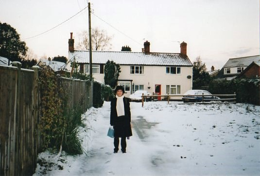 Winter at Lilac Cottage, Hethersett