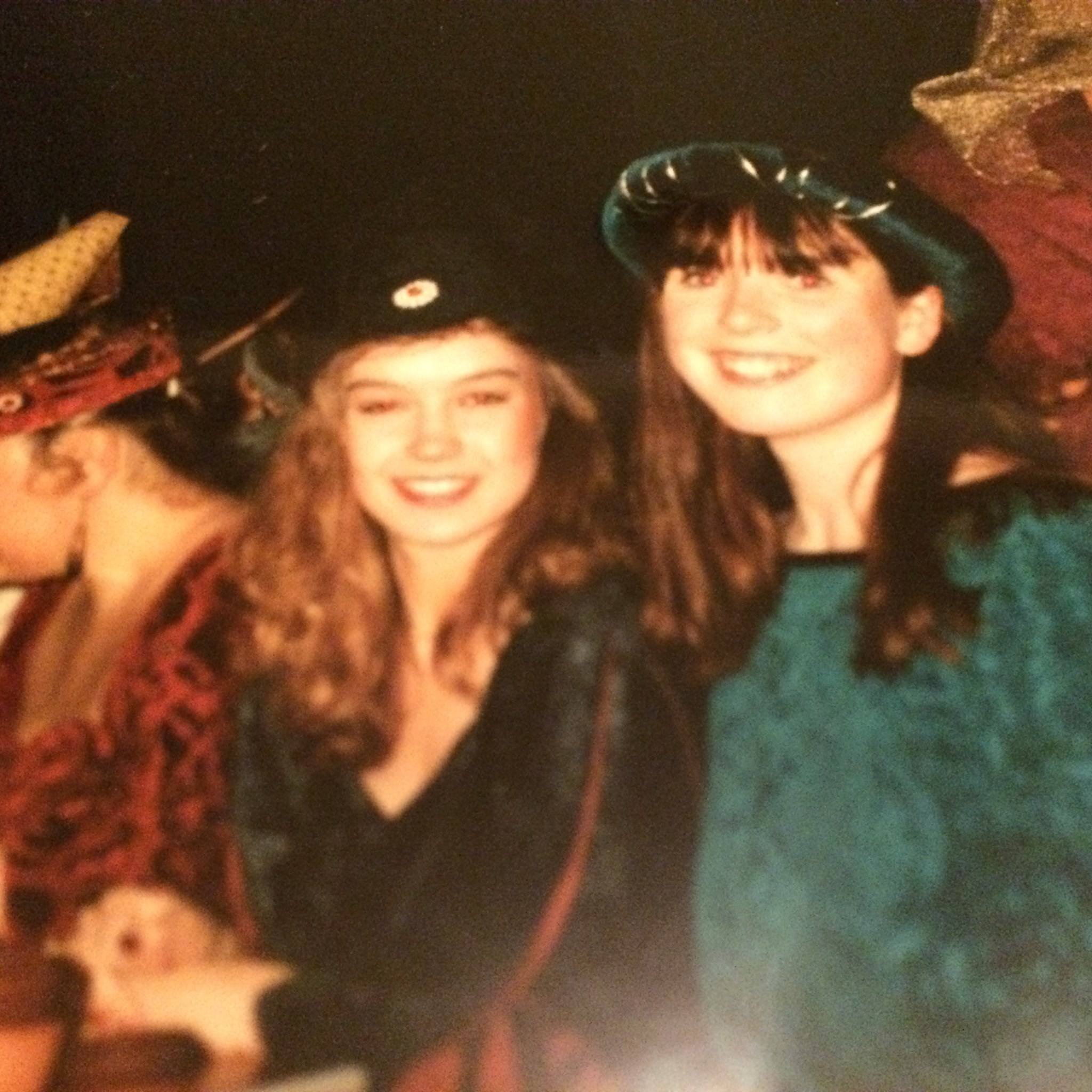 1993 - we were 21 and looked very young and innocent!