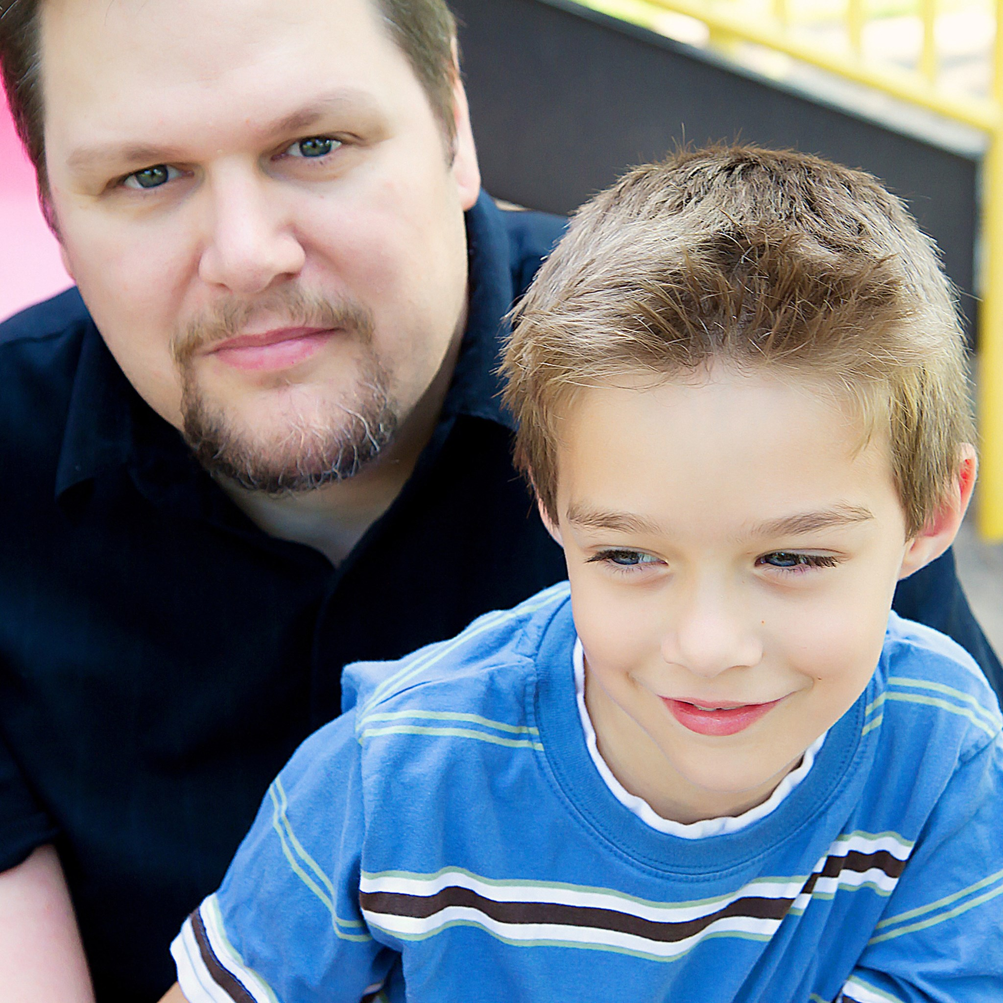 daddy and Kyle- 2010
