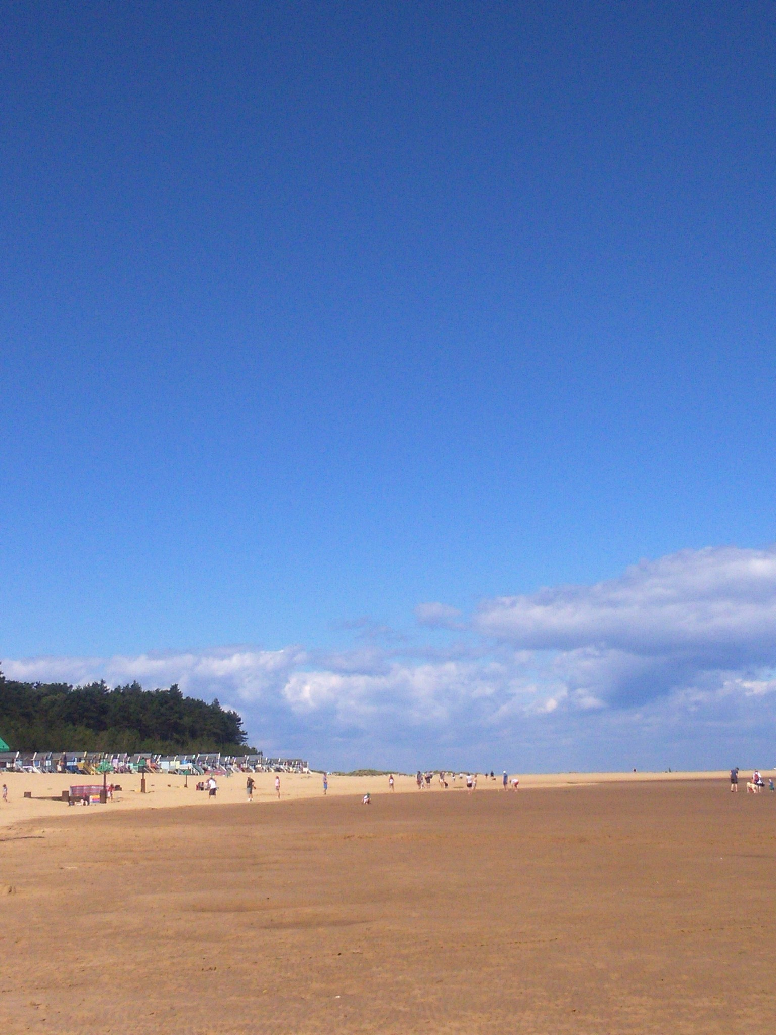 One of your favourite places... Wells beach in Norfolk.  So many happy holiday memories