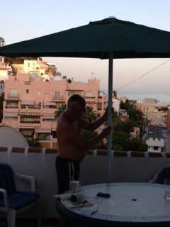 Nerja with Dad x