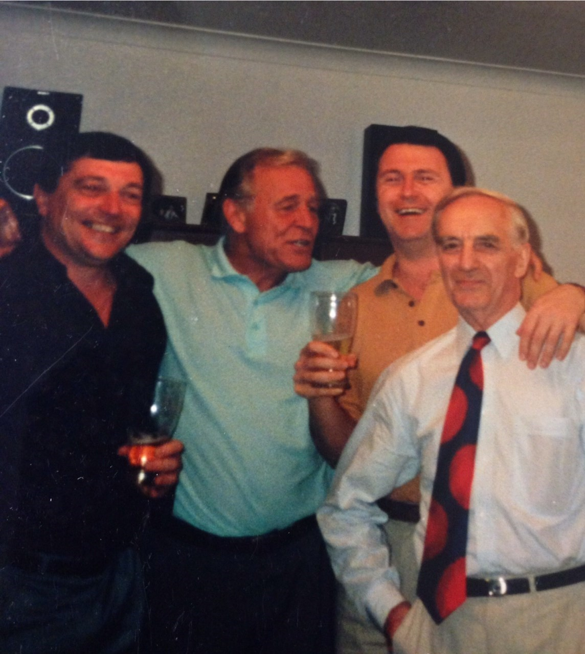 Roger,Dad,Vince and Les 1991
