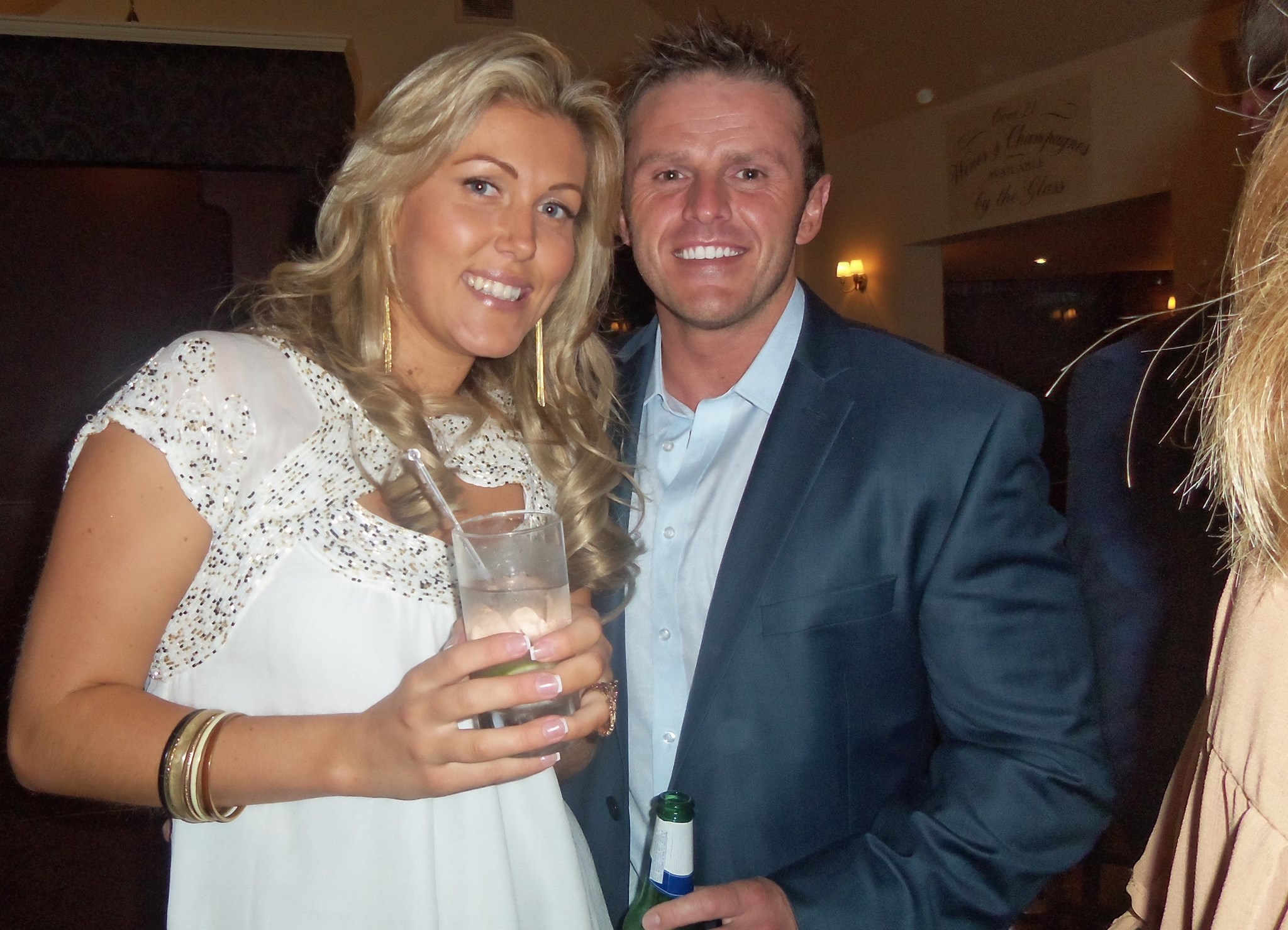The couple to be :-) Dad is with you xxx