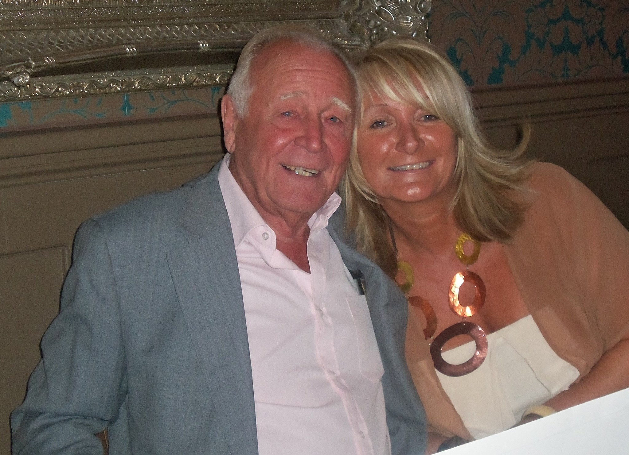 Jayne and Dad x
