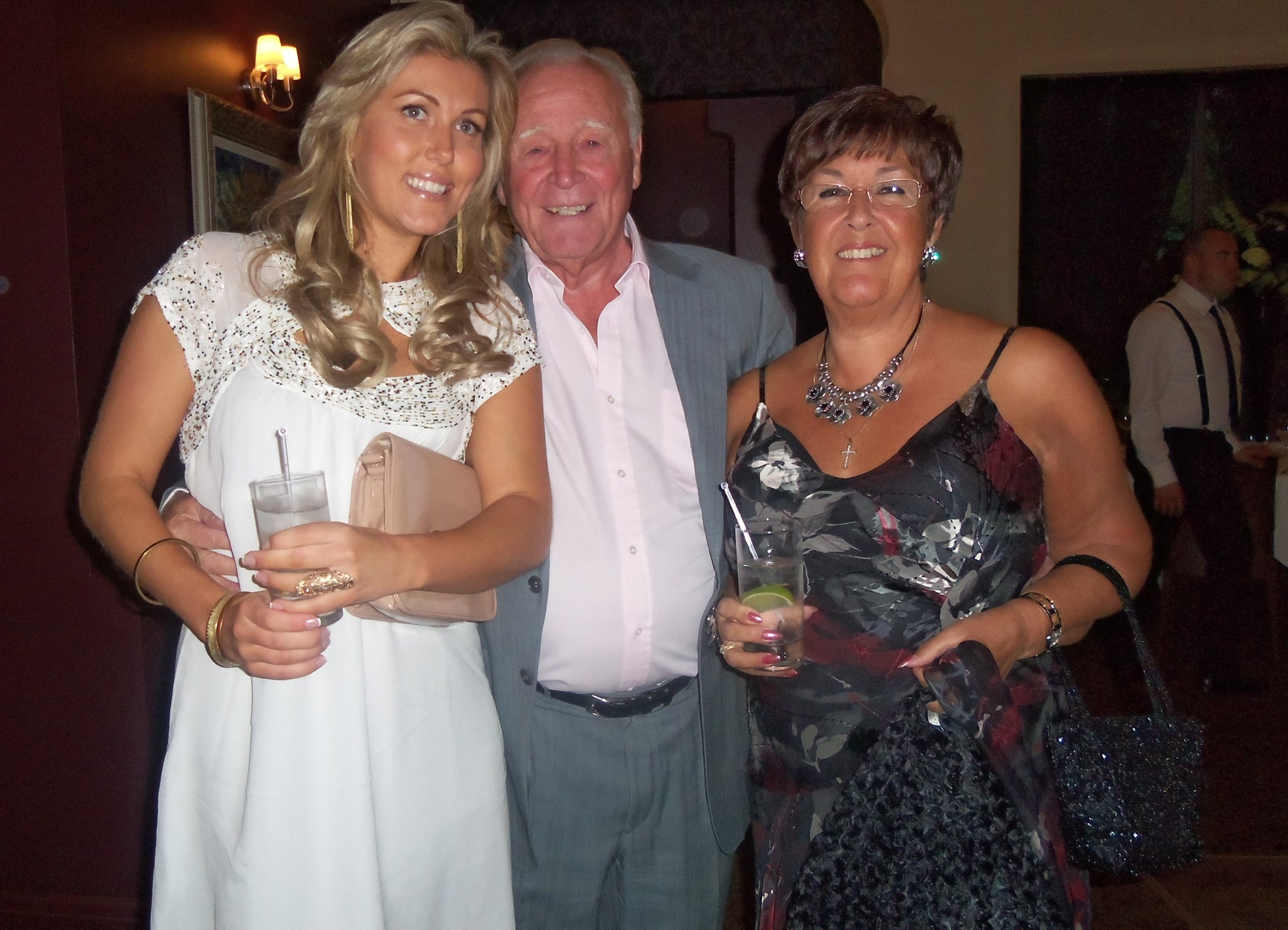 Sophie, Mum and the special man x