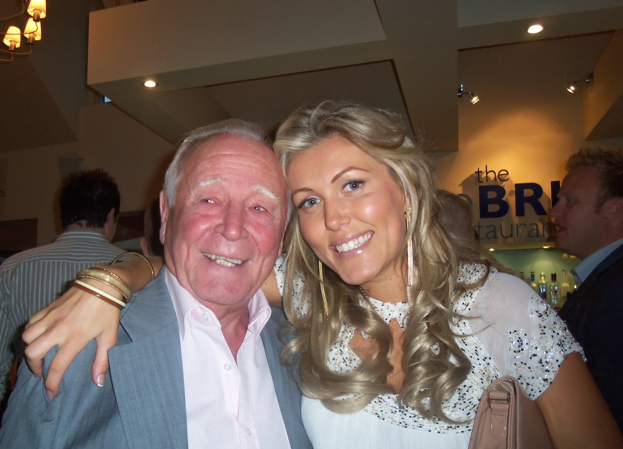 Dad and Sophie x