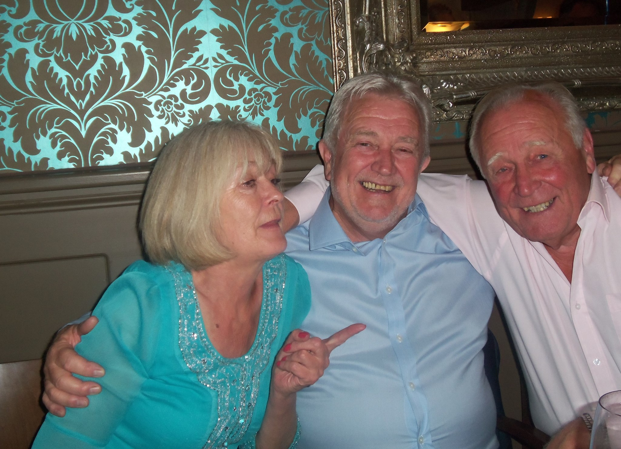 Bonnie, Dave and Dad xx