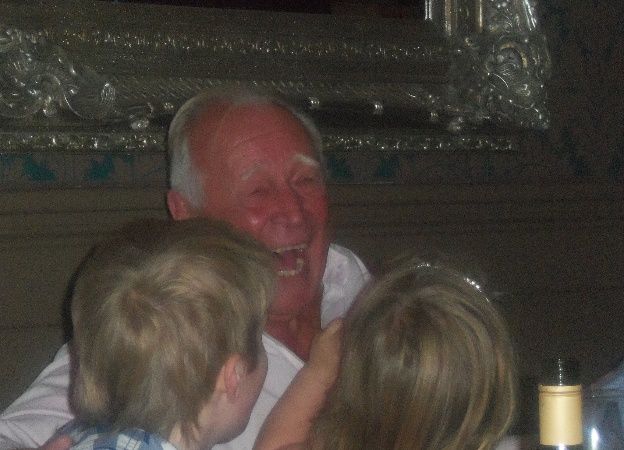 we will miss that laugh and your jokes xx