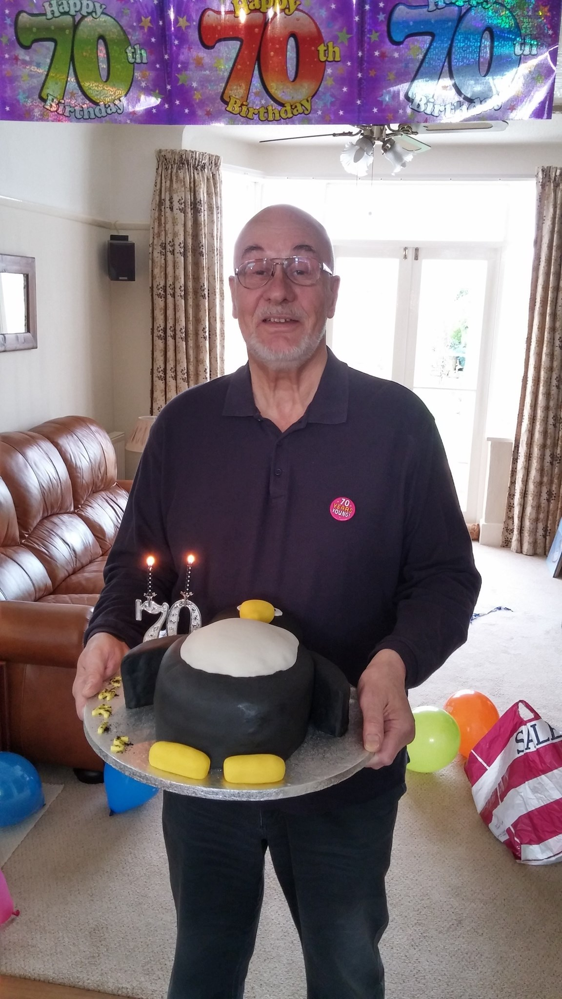 Surprise 70th party - he loved penguins :)