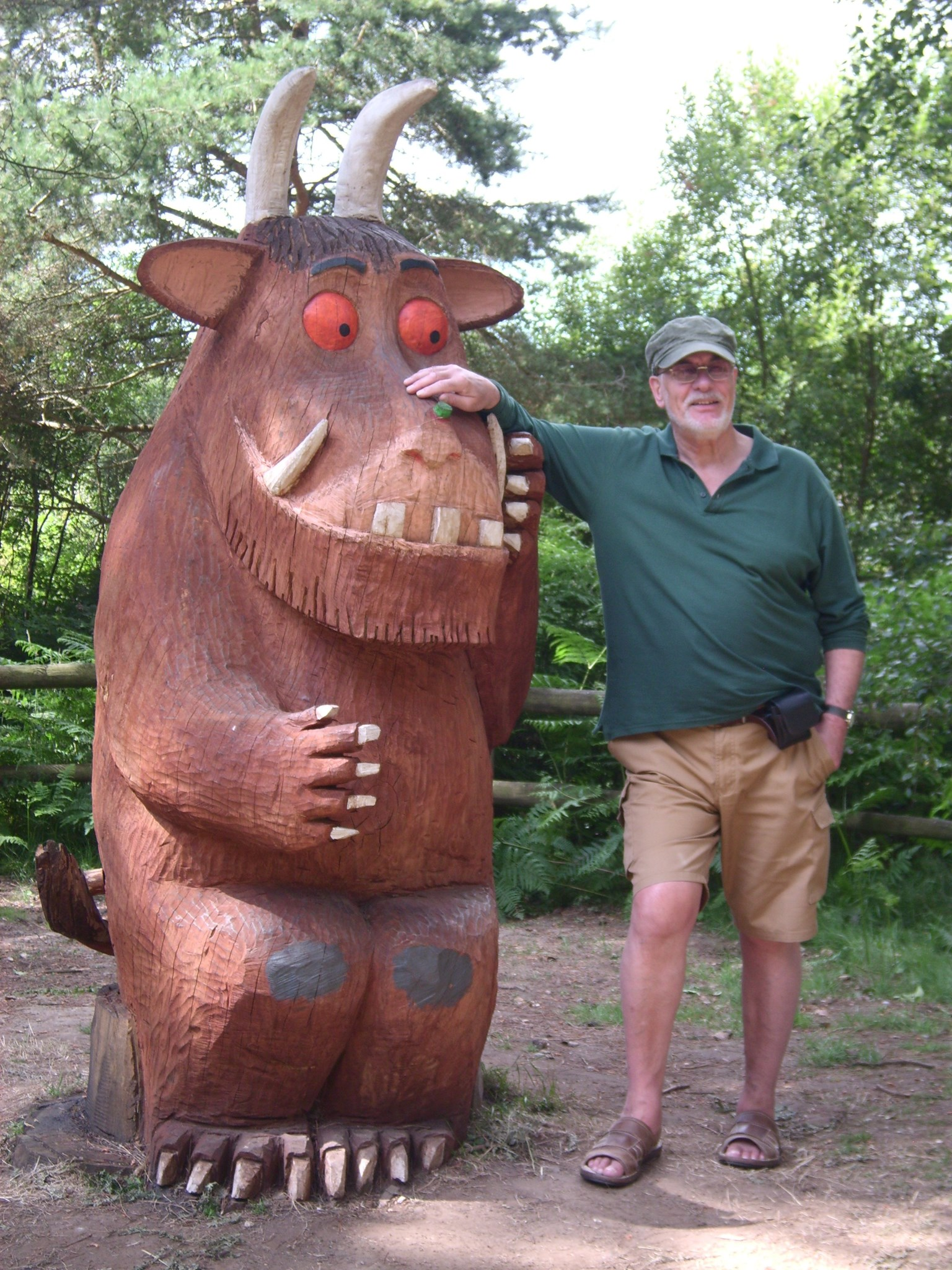 """""""Don't you know ... there's no such thing as a Gruffalo"""""""