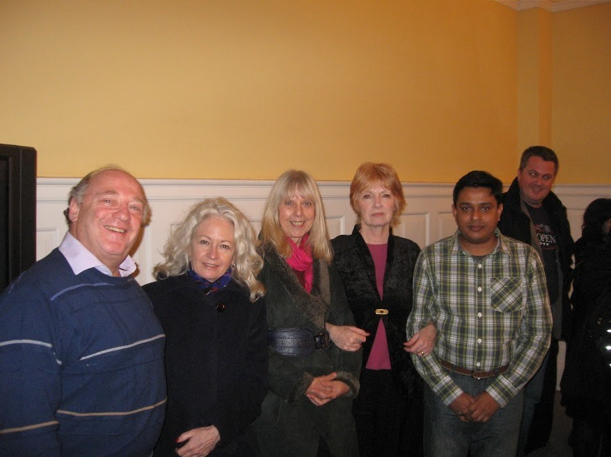 Paul, wherever you are, may you be at peace! (taken at the end of Mediation Course 2013)