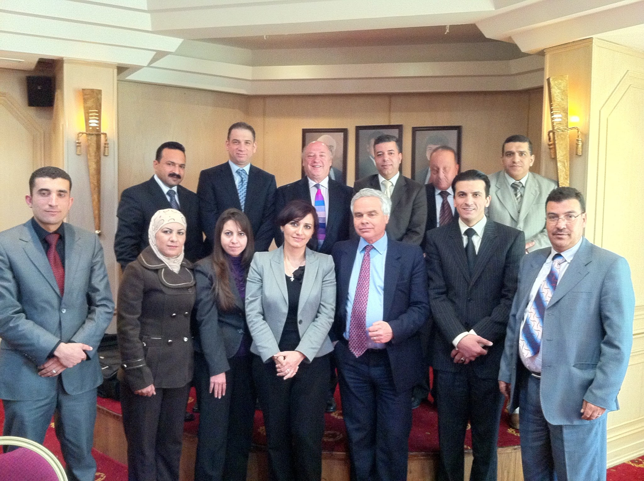 Teaching Jordanian Judges the psychology of mediation