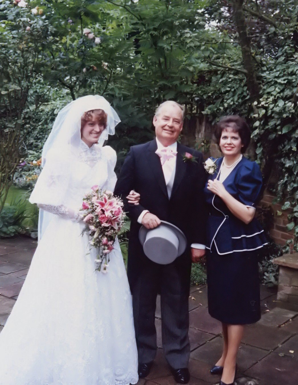 Kates Wedding Day 1987