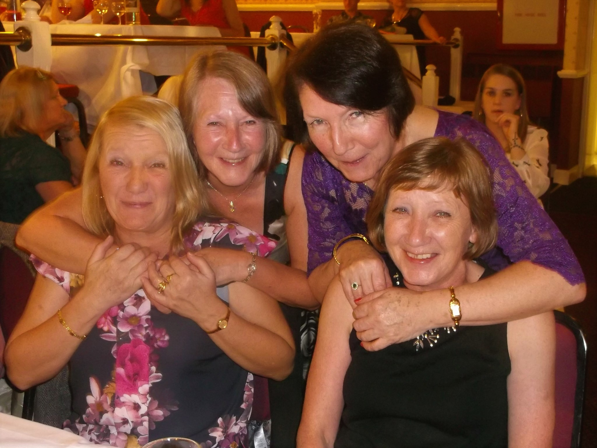 The four sisters together 2014