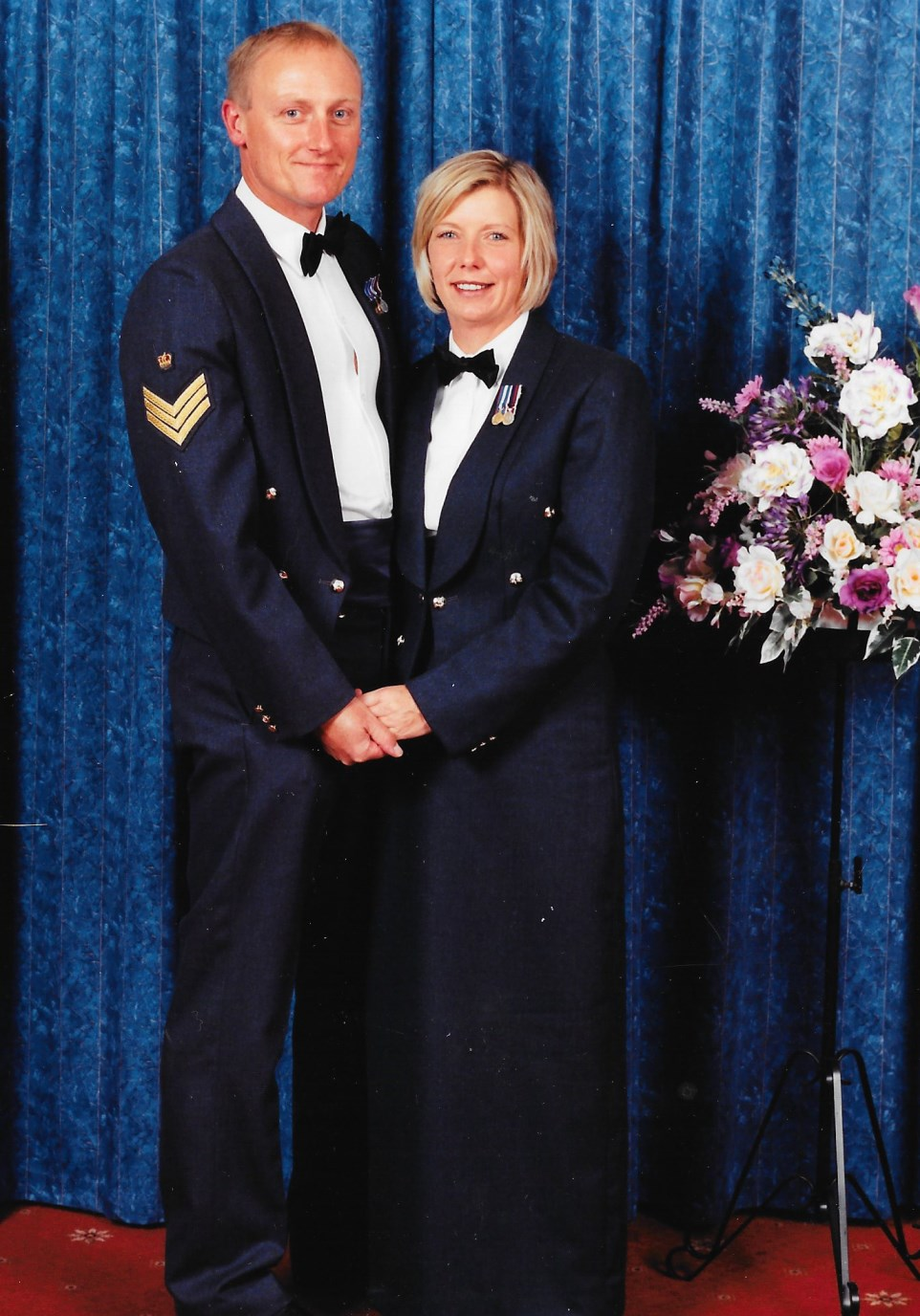 Airmen's Command Squadron together 2005