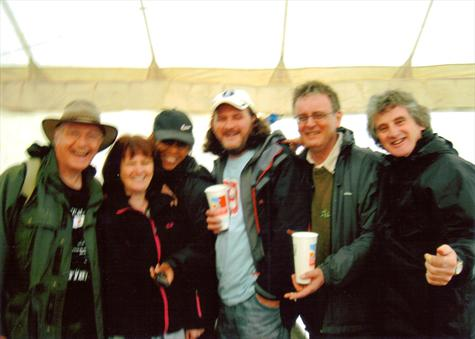 At the hop farm neil young fest summer 2008 we drank the beer tent dry !