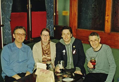 Reunited after 24yrs - 17th April 2009