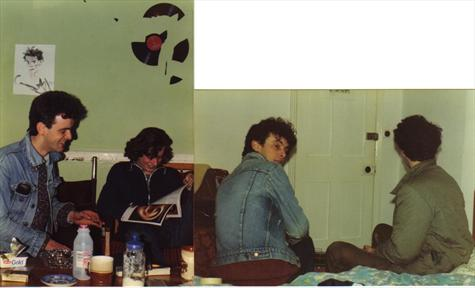 At 286 with Johnny Cole & Declan 1985