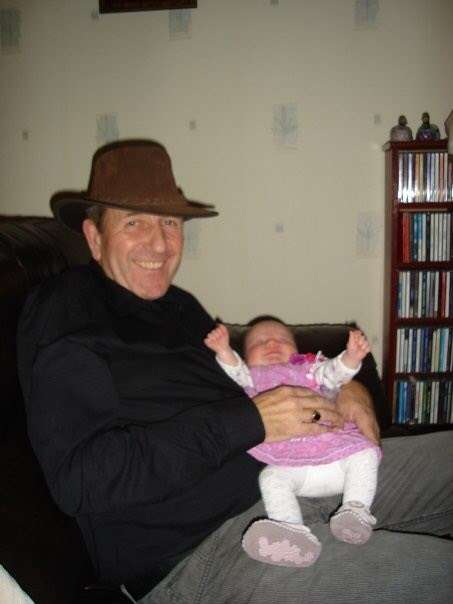Beloved grandad... but what about that hat??!! Xx