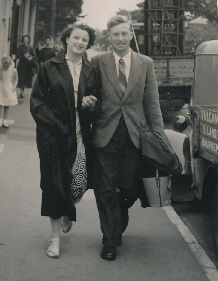 A love affair that was to last for 68 years of marriage.