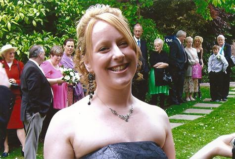 Jacqui at our wedding May 5th 2007