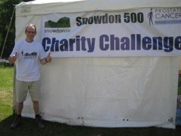 Walking up Snowdon for Charity