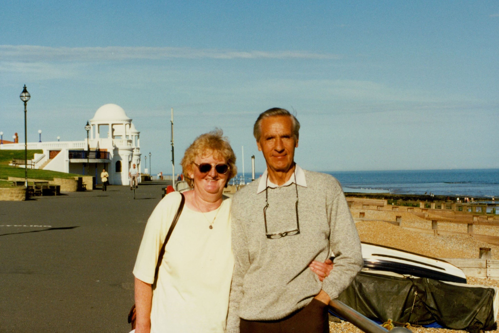 So much owed to these two - quieter life in Bexhill