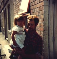 Little me and daddy