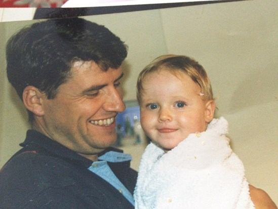 The best Daddy to Rebecca and George